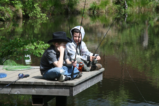 Fishing - Hartland Christian Camp