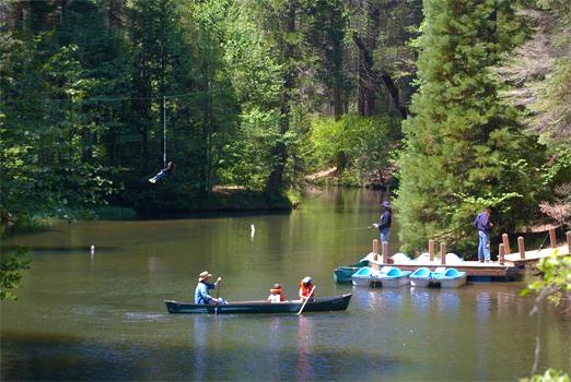 Pond - Hartland Christian Camp